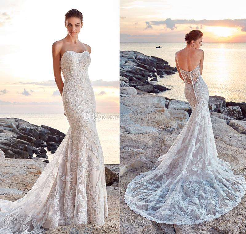 Beach Lace Wedding Dresses 2018 Eddy K Bridal Fit And