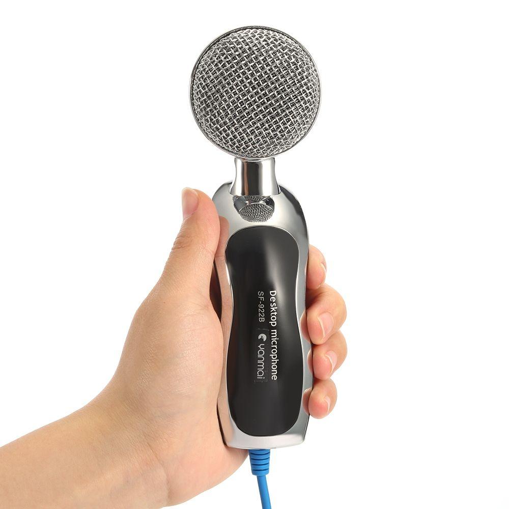 Original YANMAI SF-922B Mic Studio Audio Tonaufnahme usb mikrofon Kondensatormikrofon mit Mikrofonständer für computer KTV + B