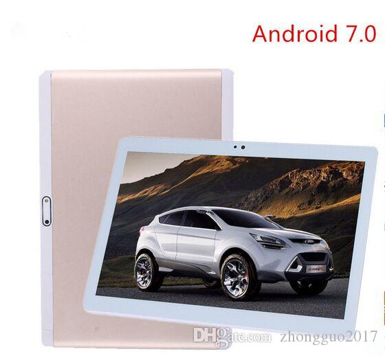 Gratis Shipping10.1 inch Tablets smart phone 1920x1200 android 7.0 Octa Core Tablet PC 4G HD 4 GB 64 GB Wifi GPS tablets 7 8 9 10