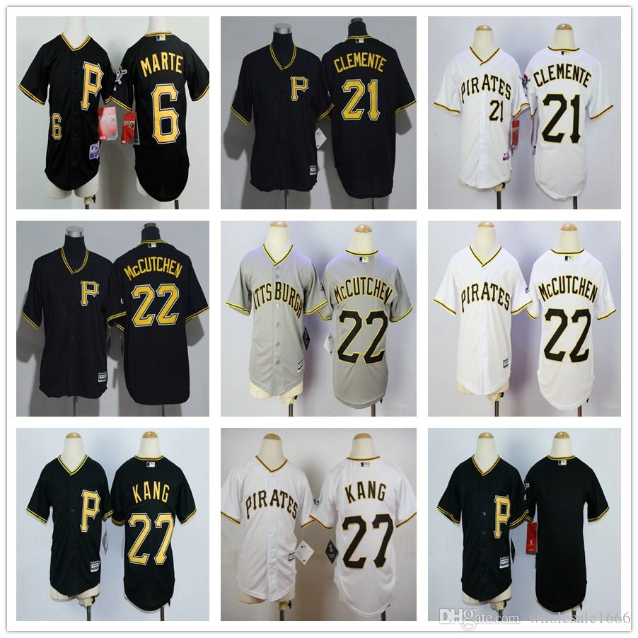 new product 980c0 7894d pittsburgh pirates 27 jung ho kang black new cool base ...