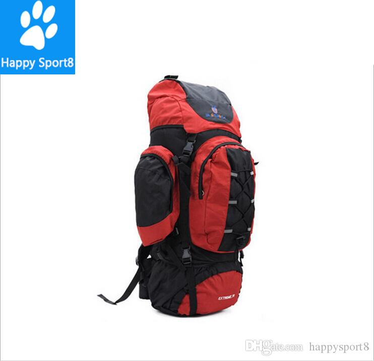 2017 New 80L Sports Hiking Backpack Professional Large Outdoor Camping Bag Mountaineering Backpacks Men's Climbing Bags