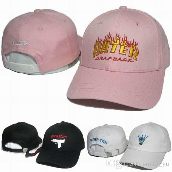New Arrival Kill Bills Snapback Caps HATER Hats Never Ever Light ... 816a9740fa