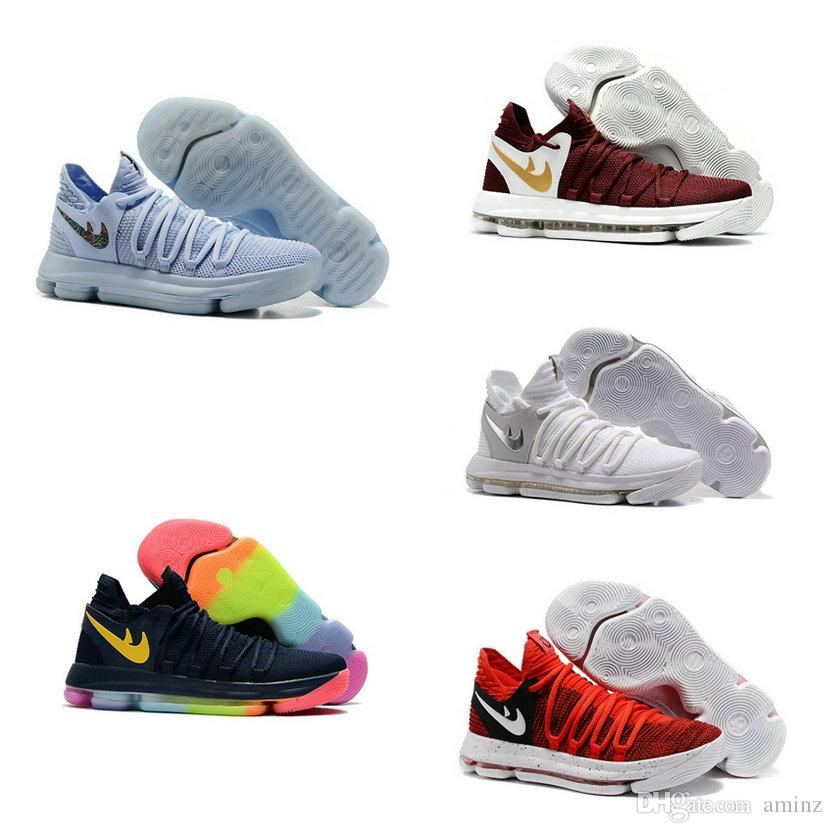 Compre Kd 10 Big Kids Sneakers Fmvp Kevin Durant Sapatos 1c900299bf5f9