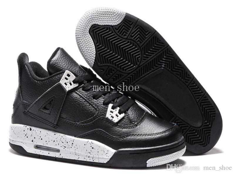 [With Box] High Quality 4s Mens Basketball Shoes 4s White Cement jump men 4s Black Red 4 Superman Fashion Sports Shoes Size 8.0-13