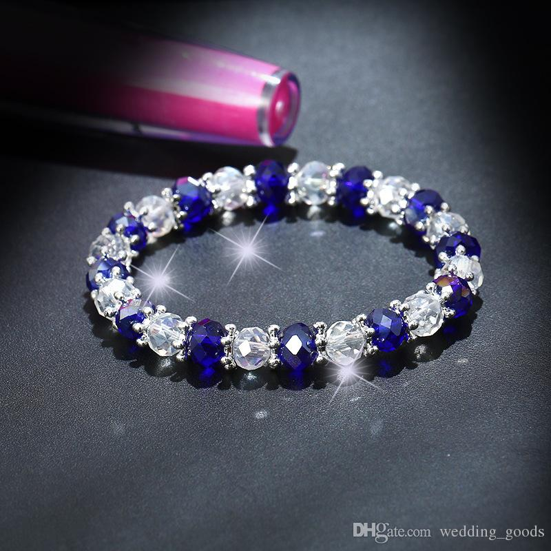 New arrival Natural crystal beaded bracelet ladies jewelry hot FB033 a Beaded, Strands