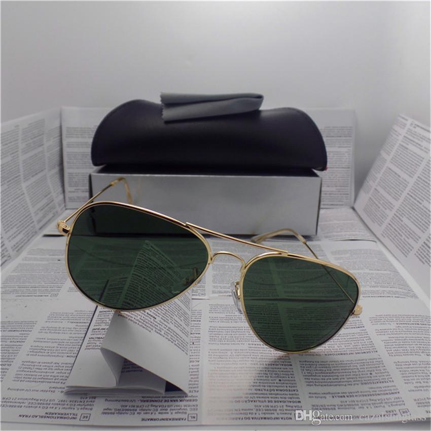 Compre Alta Qualidade Marca Designer Moda Homens Óculos De Sol Proteção Uv  Esporte Ao Ar Livre Do Vintage Das Mulheres Óculos De Sol Retro Eyewear Com  Caixa ... bf619896a0