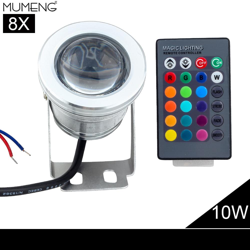 Outdoor Led Light With Remote: Outdoor Remote Control Flood Light