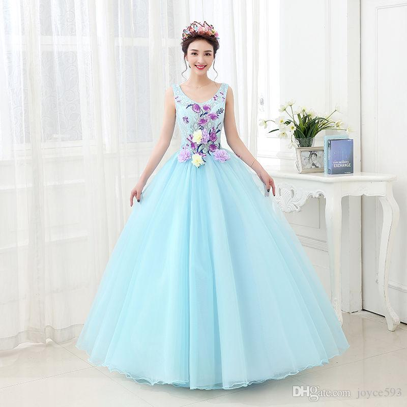 e1992d242 Quinceanera Dresses 2017 New Arrival Butterfly Scoop Floor-length ...