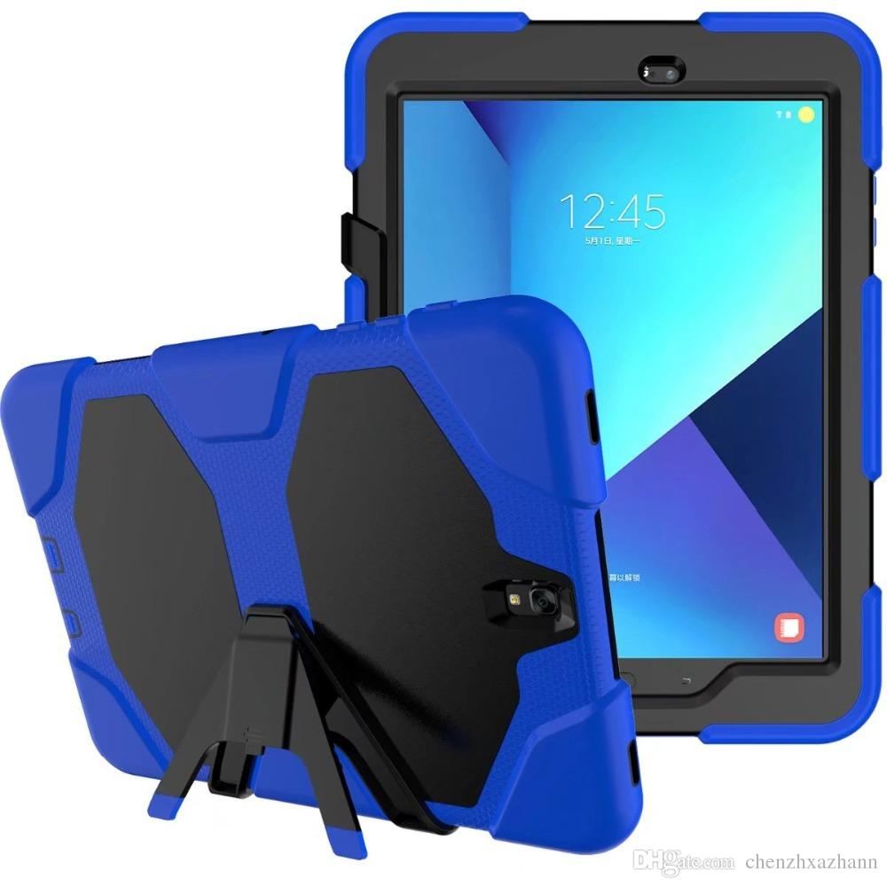New Version Hybrid Armor Waterproof Shockproof Dustproof Kids Safe Stand silicon Case for ipad ipad2/3/4 Cover For ipad234 Shellpen+pen