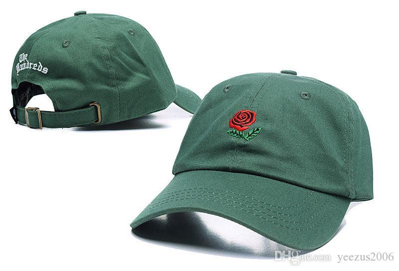 2017 Hot sale The Hundred Ball Cap Snapback The Hundred Rose Dad Hat  Baseball Caps Snapbacks Summer Fashion Golf Hat Adjustable Sun Hats fbaa57c4971d