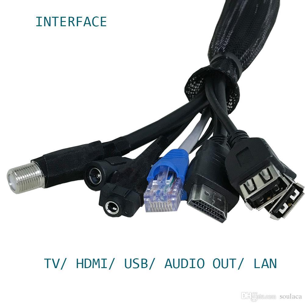 "Soulaca 21.5"" Magic Smart IP66 Full HD 1080i TV Flat Screen TV Mirror dvb-t t2 dvb C"