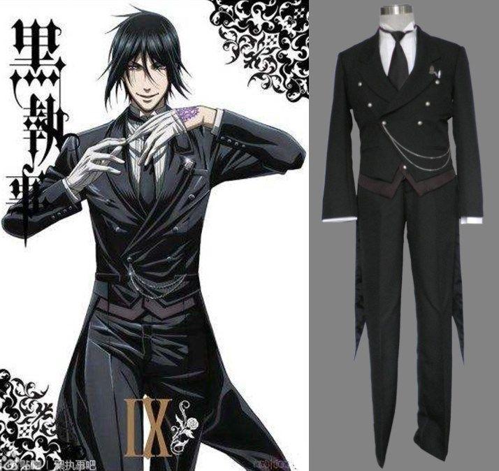 Something sebastian black butler cosplay