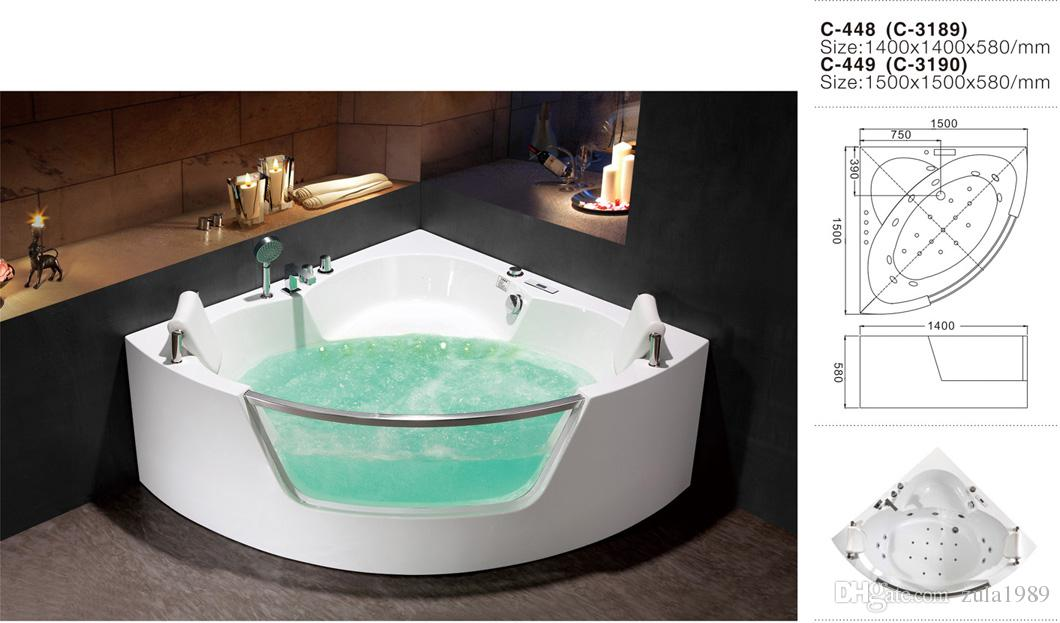 2018 Custom Size Small Plastic Bathtub Shaped Bath Storage ...