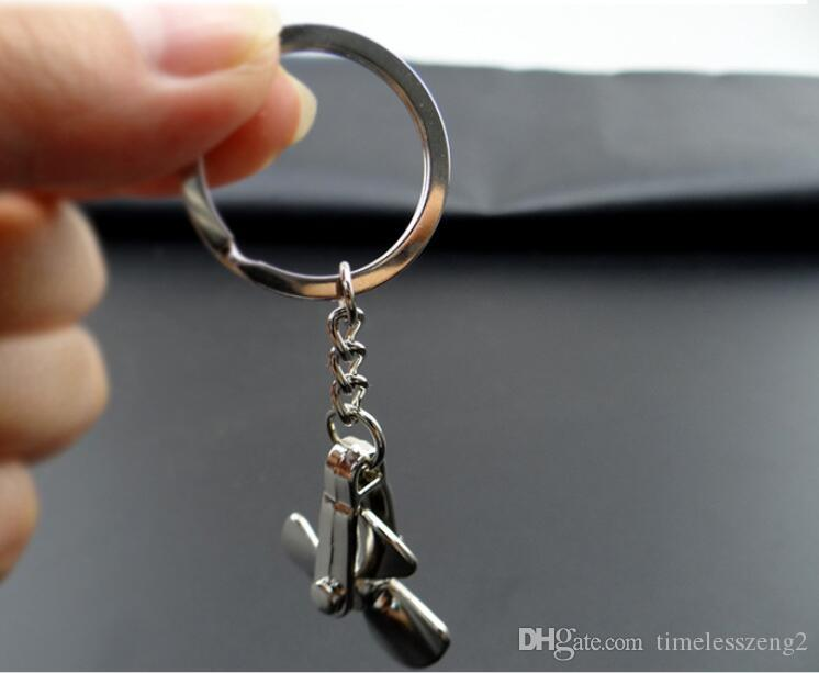 Creative windmill shaped key chain Can be rotate the windmill key ring A wonderfu witness the lovel couple small gifts