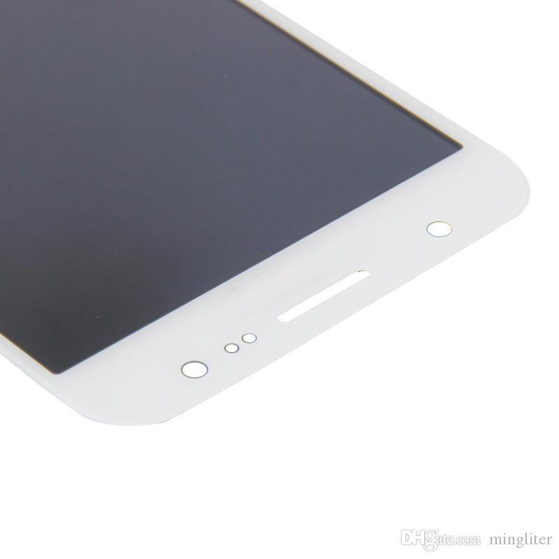 Dhl originale nero / bianco / oro nuovo telefono cellulare parti display LCD touch screen digitizer Samsung J2 J200f