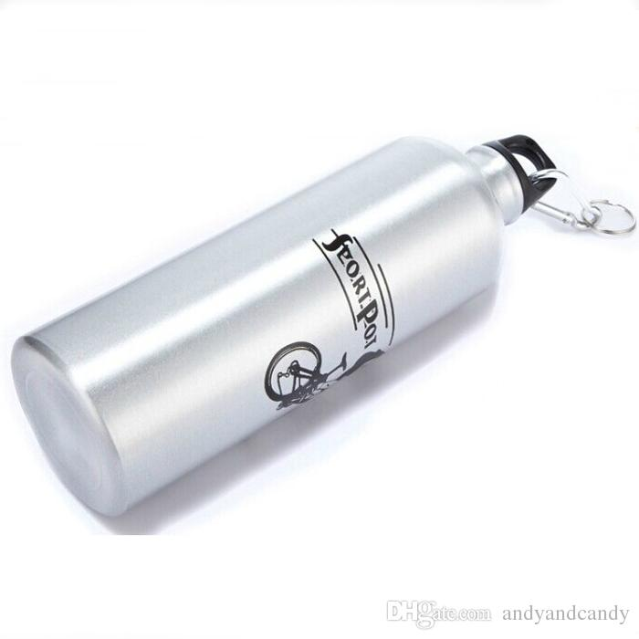 Portable 750ml Aluminum Alloy Water Bottle Fashion Durable Design Drinkware For Cycling Camping Bicycle Sports Outdoor Water Container