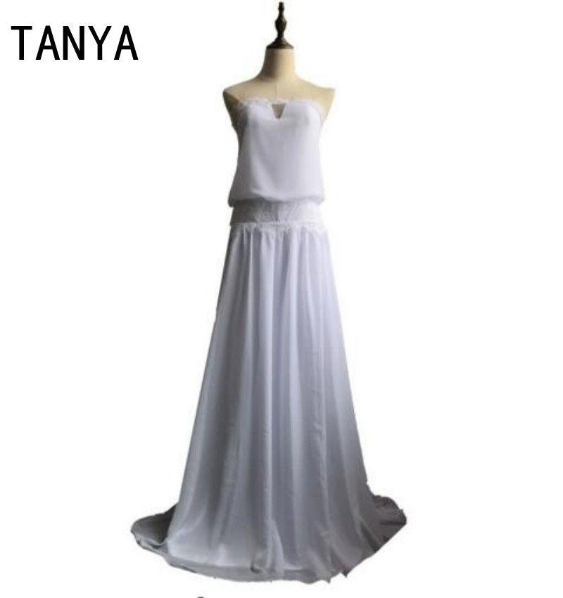 Discount Vintage Dresses 1920s Beach Wedding Dress Cheap Dropped ...