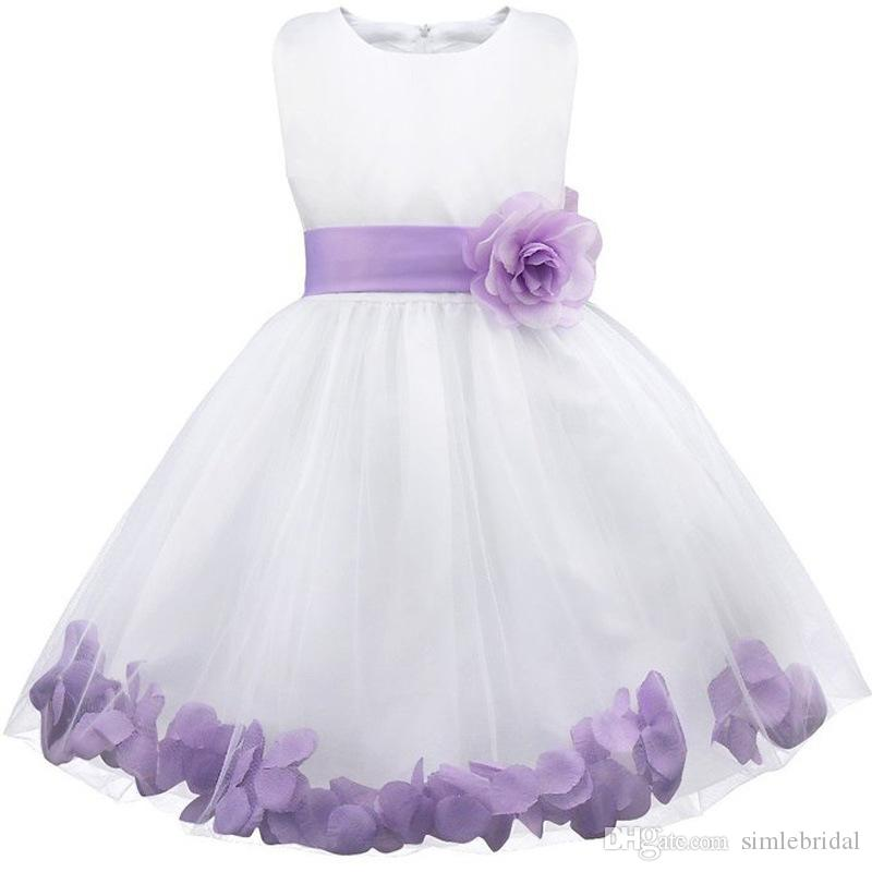 Right! excellent lavendar flower girl dresses the world