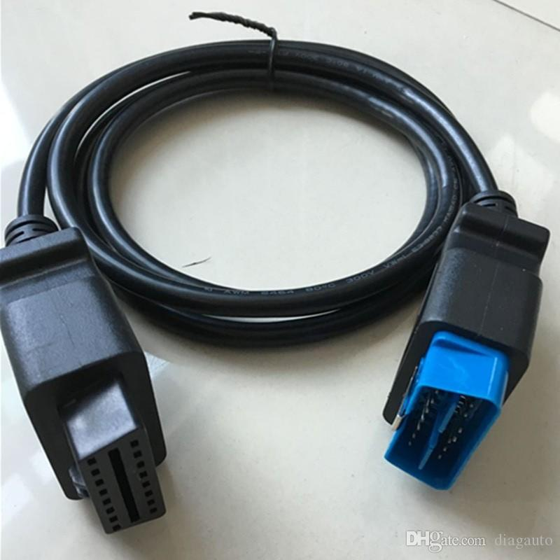 High Quality OBDII OBD 2 16Pin OBD2 16 Pin Male To Female Transfer Car Diagnostic Cable and Connector