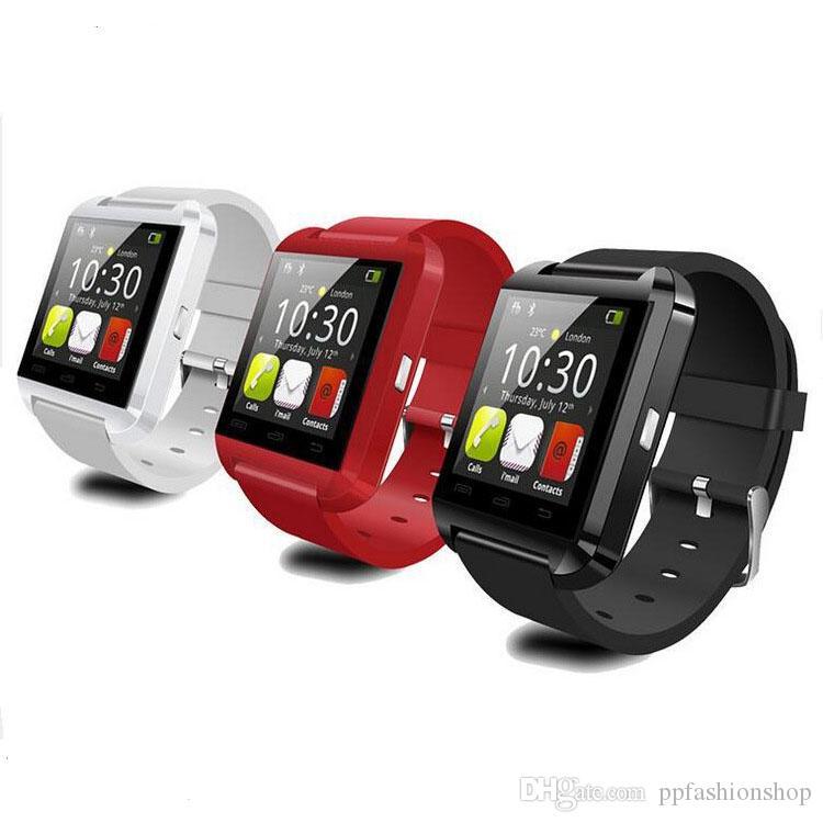 2017 nuovo orologio U8 Bluetooth di alta qualità, orologio intelligente, monitor del sonno passo esercizio, chiamata Bluetooth all'ingrosso spedizione gratuita