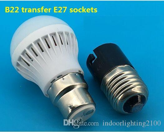 Optional 3-Wholesale 110V/220V Screw E27/E14/B22 Conversion Lamp Holder/Base/Sockets Device Lighting Accessories Spare Parts