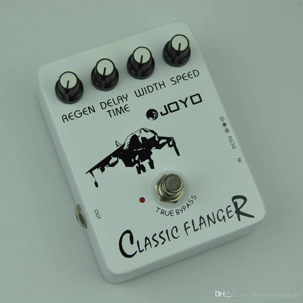 JOYO JF-07 Classic Flanger Guitar Effect Pedal with BBD simulation circuit