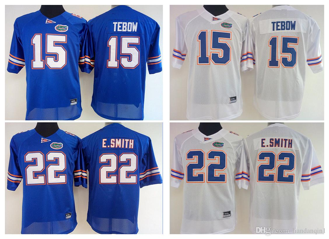ee8de61c5 2018 womens florida gators 15 tim tebow women 22 e.smith college football  throwback jerseys