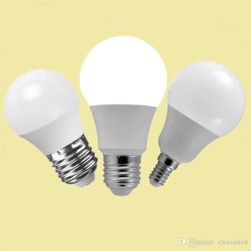 ل كري الصمام المصابيح E27 غلوب لمبات الأنوار 5W 7W 9W 10W SMD5730 LED أضواء مصباح AC 85-265V م بنفايات ماي سا