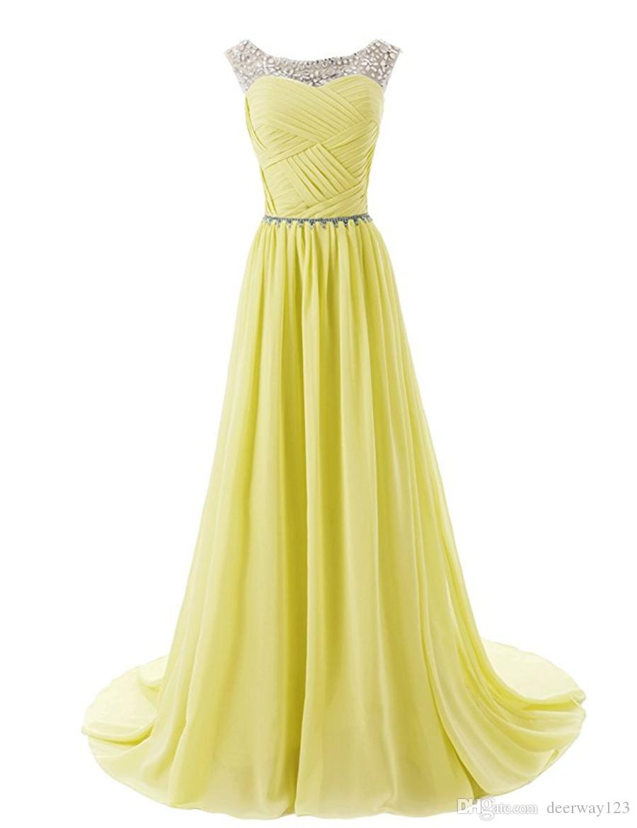 Scoop Neckline Ruched Bodice Beaded Straps Evening Dress with Sparkling Embellished Waist Bridesmaid Dresses Homecoming/Prom Dress