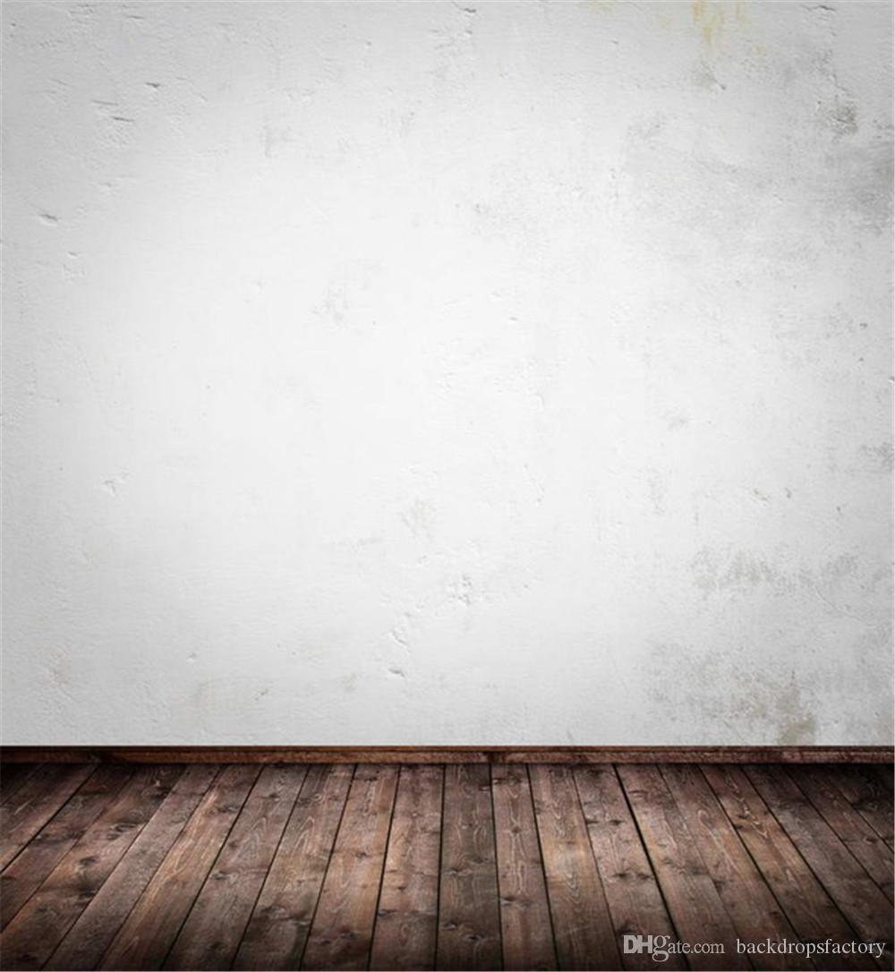 solid white wall photography backdrop brown texture wooden