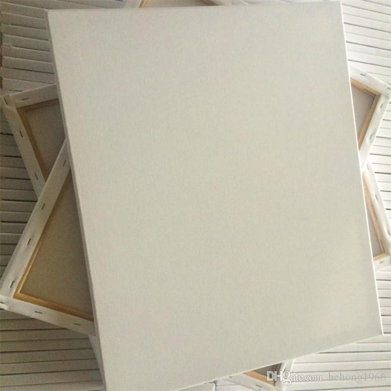 Multi Especificação Quadro Puro Algodão Canvas Oil Picture Frames Prática de Desenho Personalizado de Alta Qualidade Grafite Arte Pintura Popular 5wx6 H R