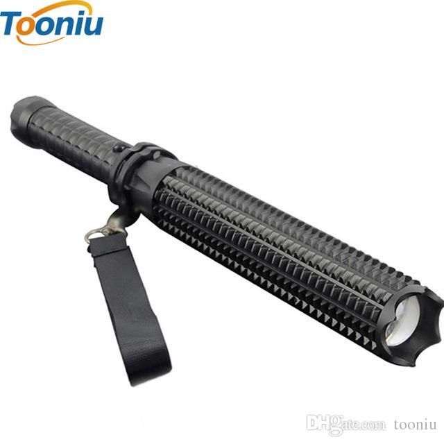 COB T6 LED Flashlight USB Rechargeable Magnetic Torch Zoomable Flashlight Lamp