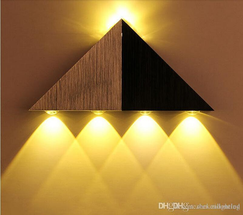 Online Cheap 5w Aluminum Triangle Led Wall Lights Wall Sconces Decor ...