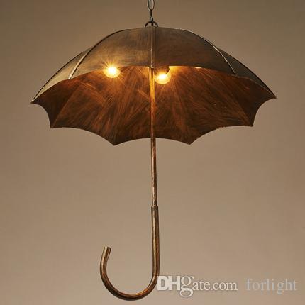 Discount Pendant Lights Creative Umbrella Chandelier Lamps ...