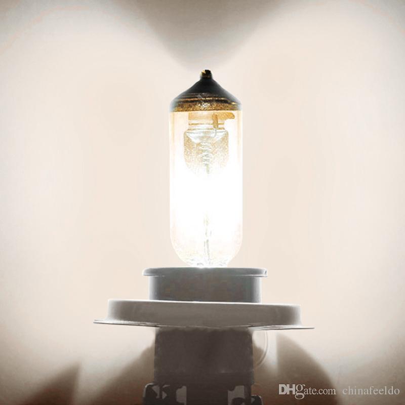 wholesale 12V H1 55W/100W White Car Fog Lights Halogen Bulb Headlights Lamp Car Light Source Parking #2024