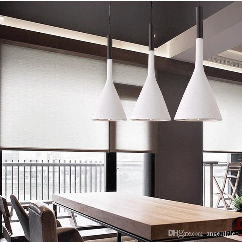 Modern LED Pendant Lamps Living Room Restaurant Bedroom Lamp ...