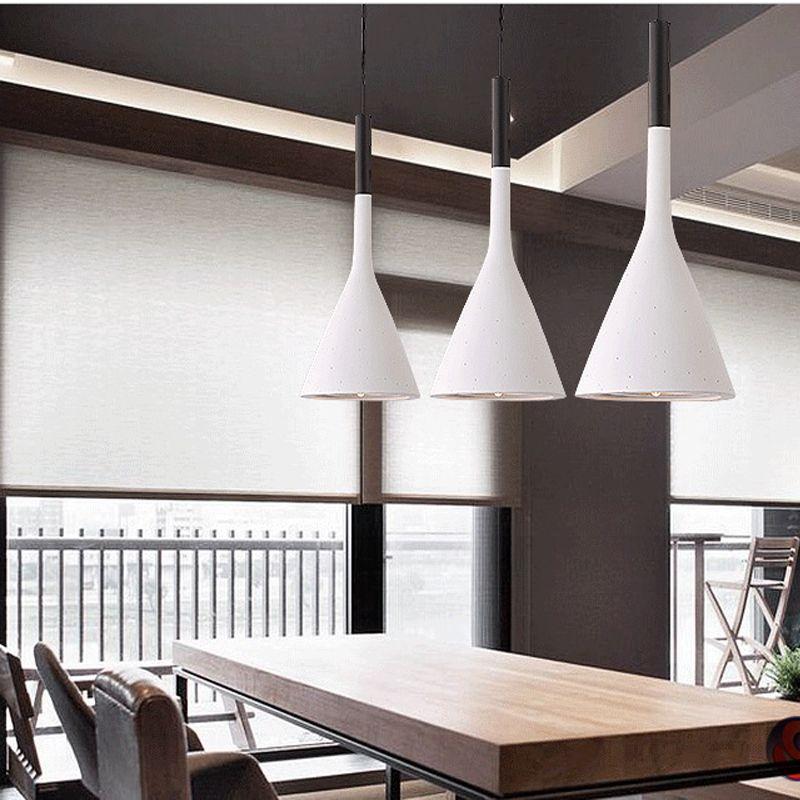 Modern Led Pendant Lamps Living Room Restaurant Bedroom Lamp
