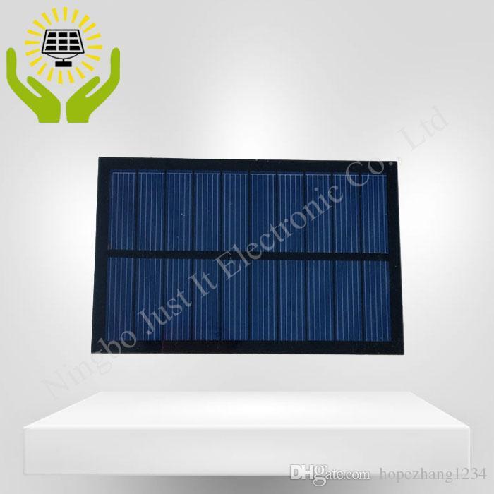 30 قطعة / الوحدة الصغيرة الشمسية لوحة pet 5 فولت 300ma 140 * 90 ملليمتر
