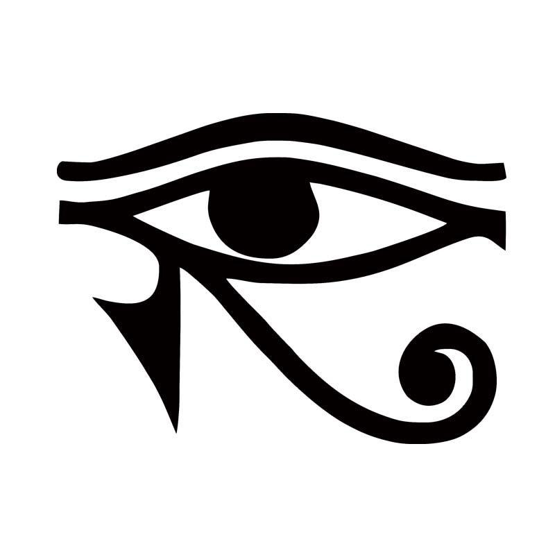 2018 For Eye Of Horus Egyptian God Vinyl Decal Car Styling Sticker