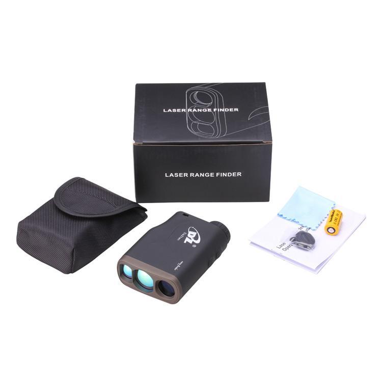 1000m Wodoodporna Golf Range Laser Finder Handheld Odległość Miernik Speed Range Finders z Flagpole Lock Funkcja monokular