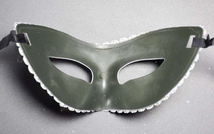 EMS gratuit 100 pièces mixtes Masques pour les yeux Halloween Masques de fête Masque de mascarade Masque vénitien Femmes Lady Sexy KTV Disco Masques de mariage f