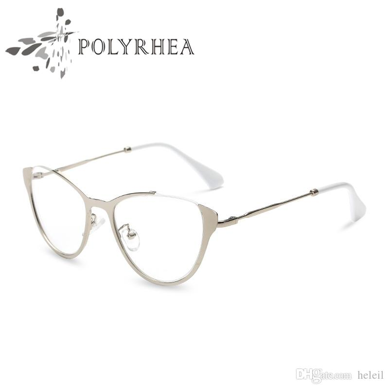 2018 Brand Designer Cat Eye Eyeglasses Frames Women Vintage Optical ...