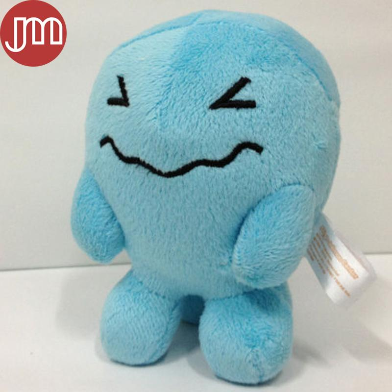 New Wobbuffet Rare Plush Stuffed Dolls Animal Figure Sonansu For Kids Birthday Gift aby Toy Approx 15cm/6""