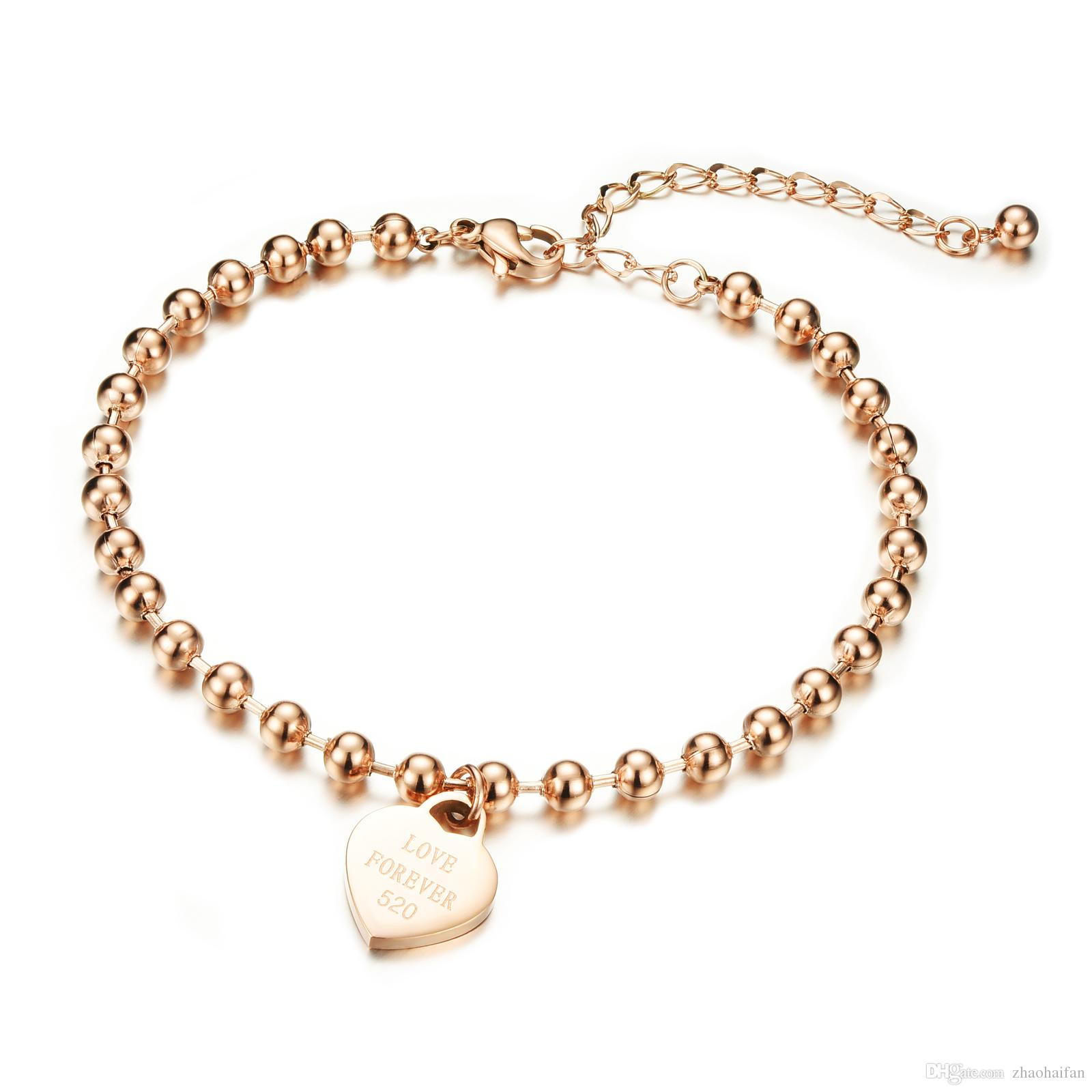 Online Cheap Fashion Jewelry Wholesale Price Accessories Rose Gold