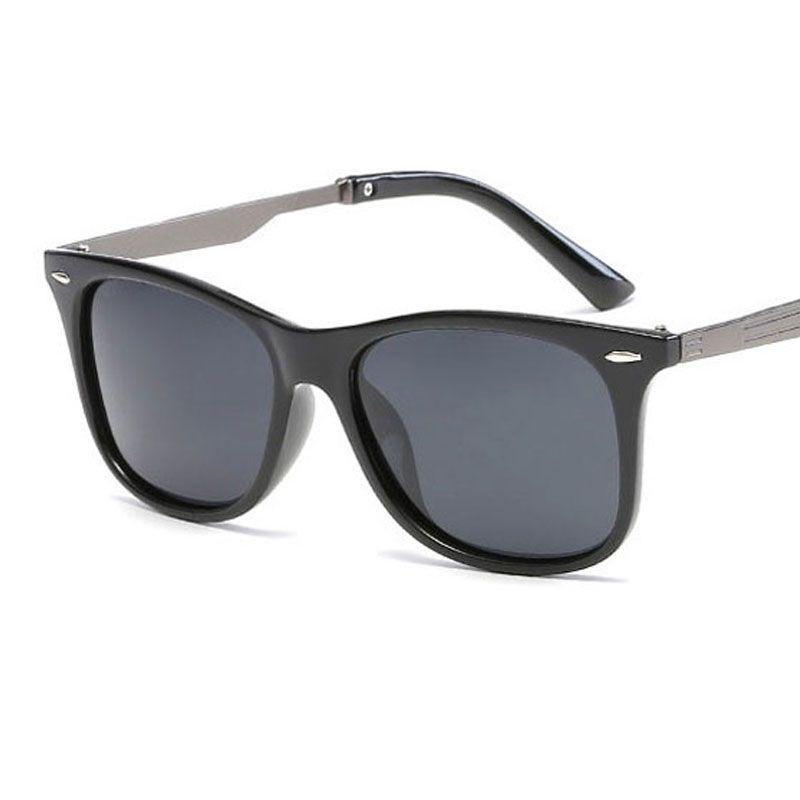 Compre Homens Quadrados Clássicos Polarizados Óculos De Sol Retro Dos Homens  Das Mulheres Designer De Marca De Moda Quadrado Do Vintage Condução Óculos  De ... d5ef4a83b6
