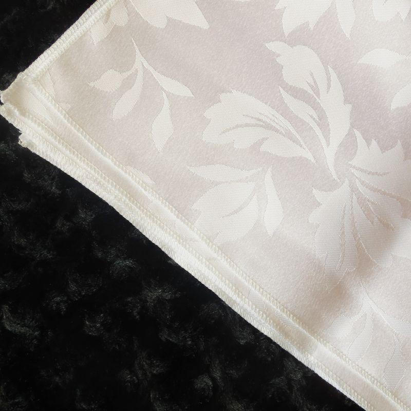 100% polyester white&ivory plain damask jacquard table napkinbauhinia flower pattern a for wedding,party,hotel decoration use