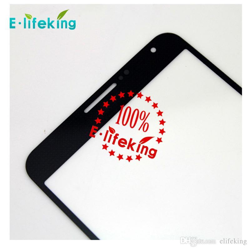 أبيض وردي حصاة أزرق أسود رمادي غالاكسي ملاحظة 3 جبهة الخارجي زجاج الشاشة التي تعمل باللمس استبدال استبدال غطاء الشاشة