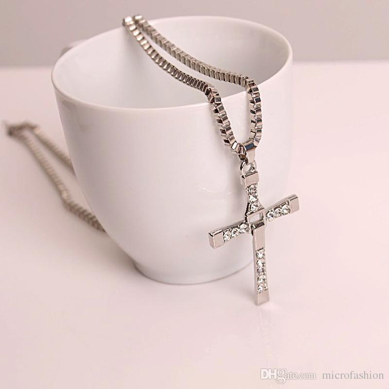 Man Halskette Kreuz Halskette Mode Halskette Männer Schnell Furious Schmuck Mode für Männer Schmuck