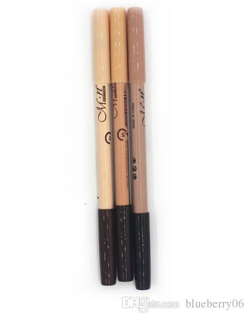 Populaire Hot Wholesales / eye Maquiagem front Menow maquillage double fonction Sourcils Crayons Correcteur MAQUILLAJE