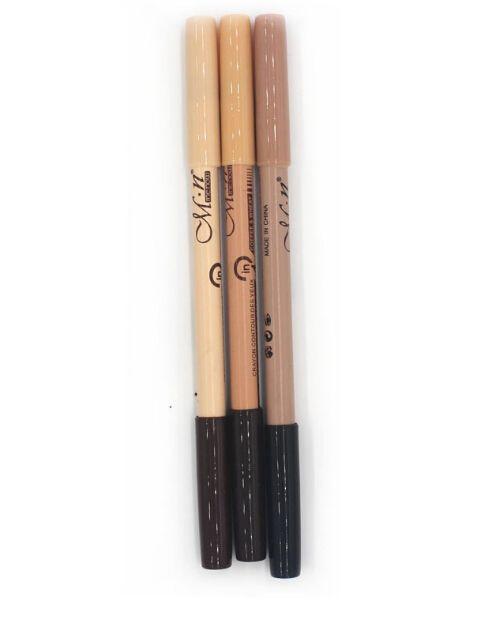 Wholesales Popular Hot maquiagem eye brow Menow makeup Double Function Eyebrow Pencils & Concealer Pencils maquillaje